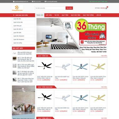 Theme wordpress bán quạt trần